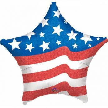 XL Folieballon Ster USA